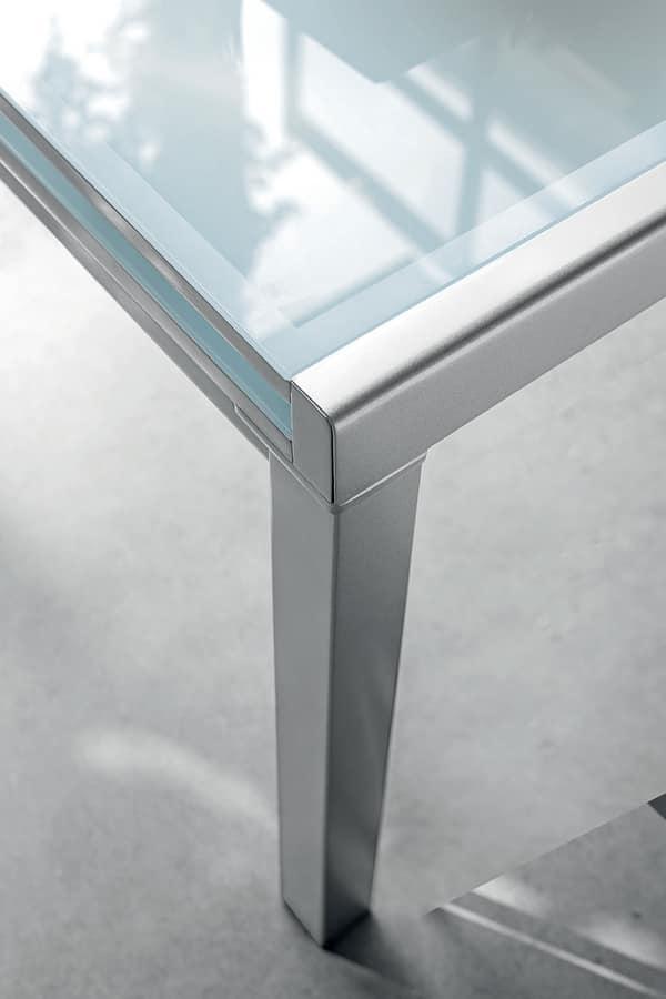 VEGA 90 TA100, Extensible square table
