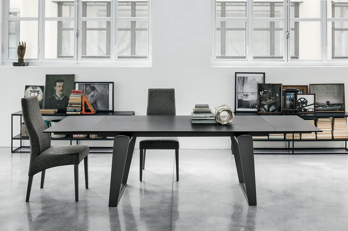 ZEUS 180 TA198, Contemporary table for living room