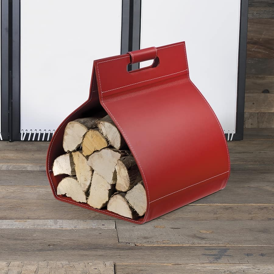 B-38, Leather bag for firewood