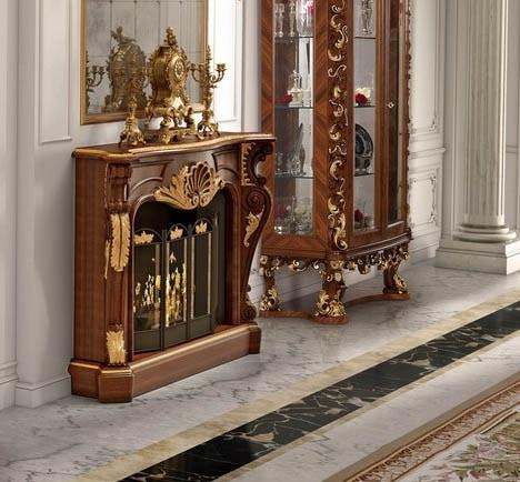 Art. 25, Classic style fireplace