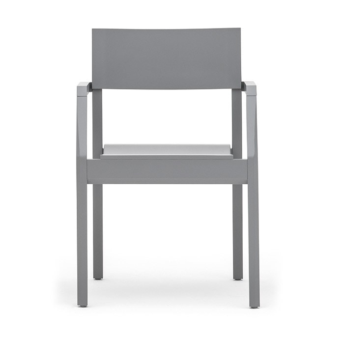 Maki 03721, Stackable armchair with armrests