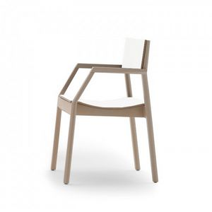 Maki 03724/03725, Stackable fireproof armchair