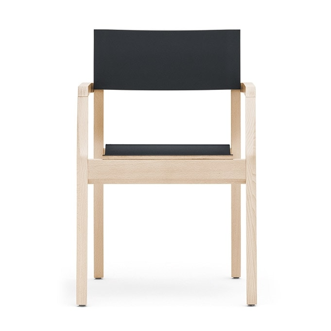 Maki 03724 - 03725, Stackable fireproof armchair