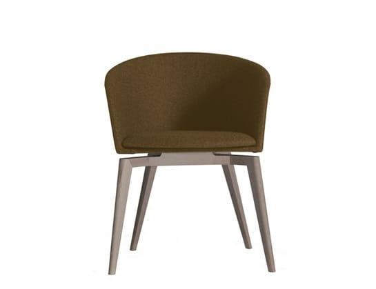 Moon Light 663MD4A, Small armchair with wooden base