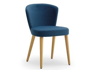 Greta-S, Hotel chair padded with fire retardant polyurethane foam