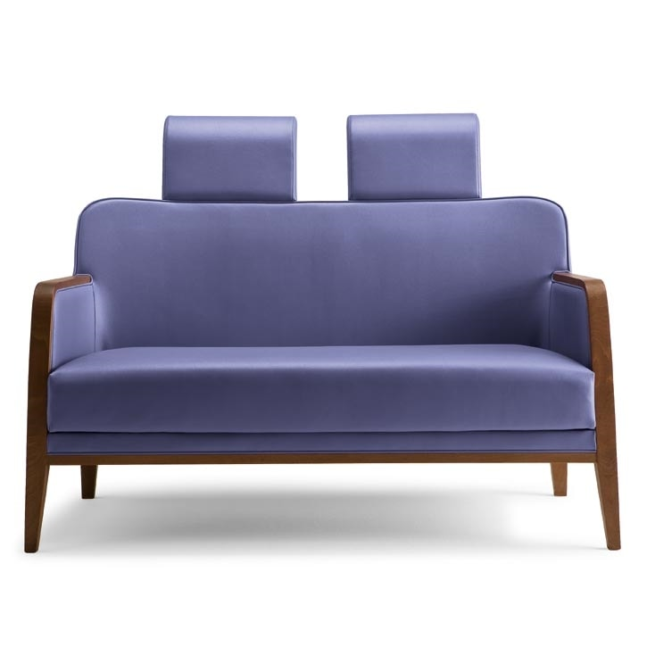 Opera V2252, Sofa with headrest for rest homes