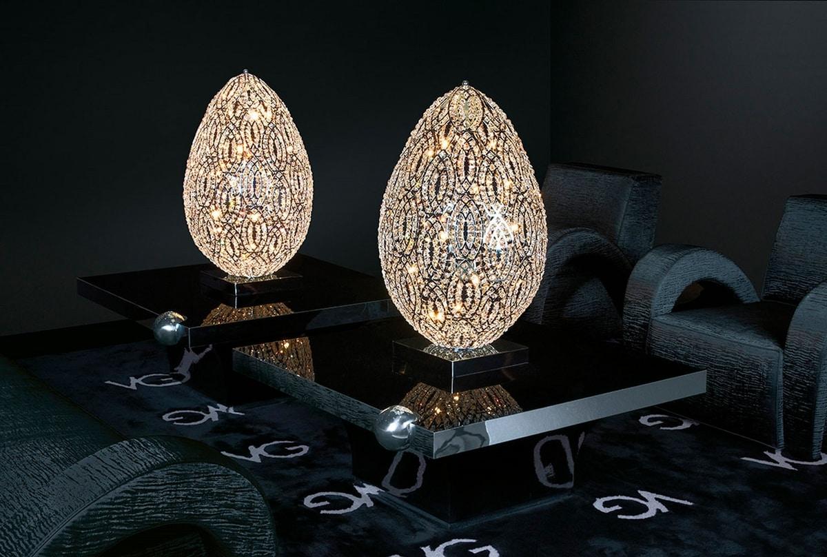 Arabesque Egg 90, Egg-shaped lamp