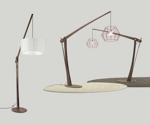 Archita floor lamp, Wooden floor lamp, adjustable and customizable