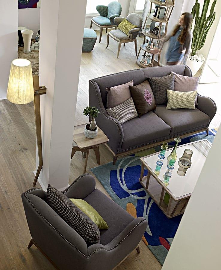 Archita floor lamp, Wooden floor lamp, adjustable and customizable