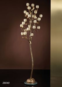 Art. 28040 Fior di Loto, Floor lamp made by hand in Italy