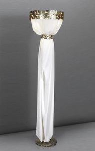Art. 3006-05-00, Floor lamp with classical Greek style
