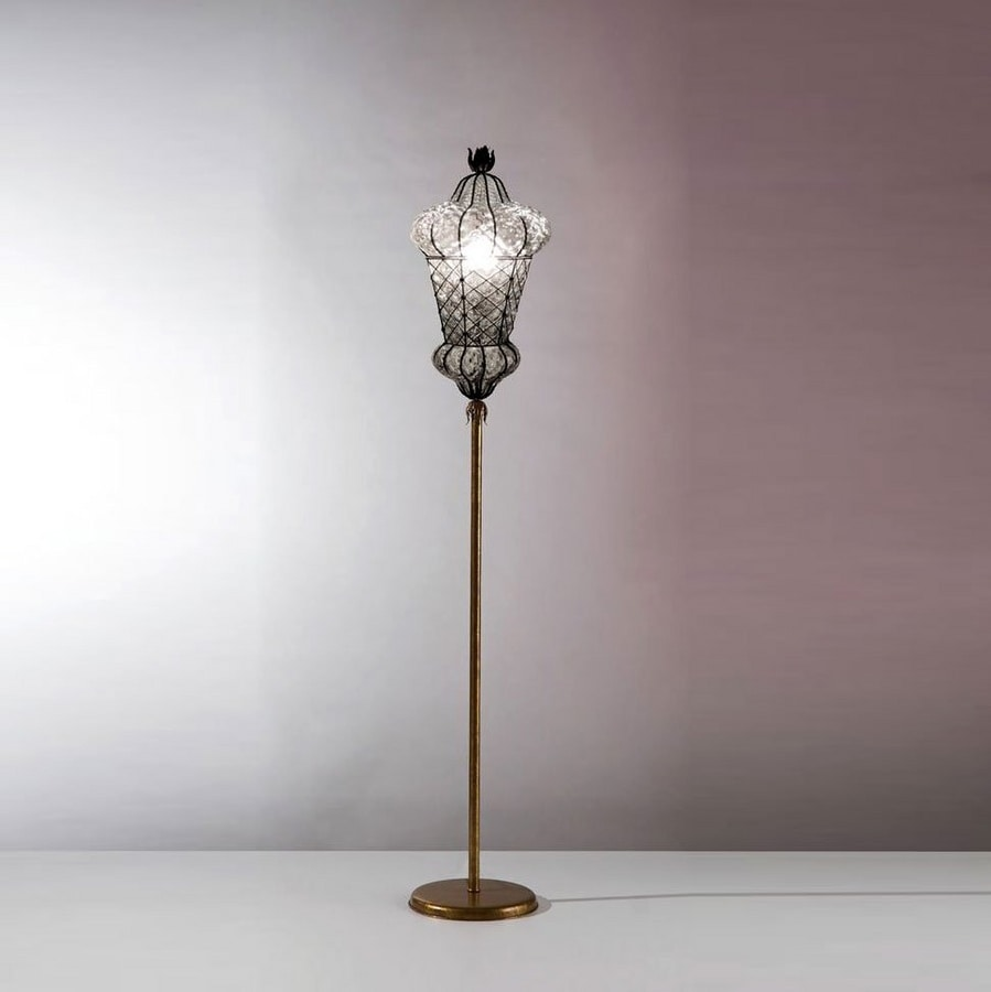 official photos e2b29 81c90 Blown glass floor lamp, with a Middle Eastern design | IDFdesign