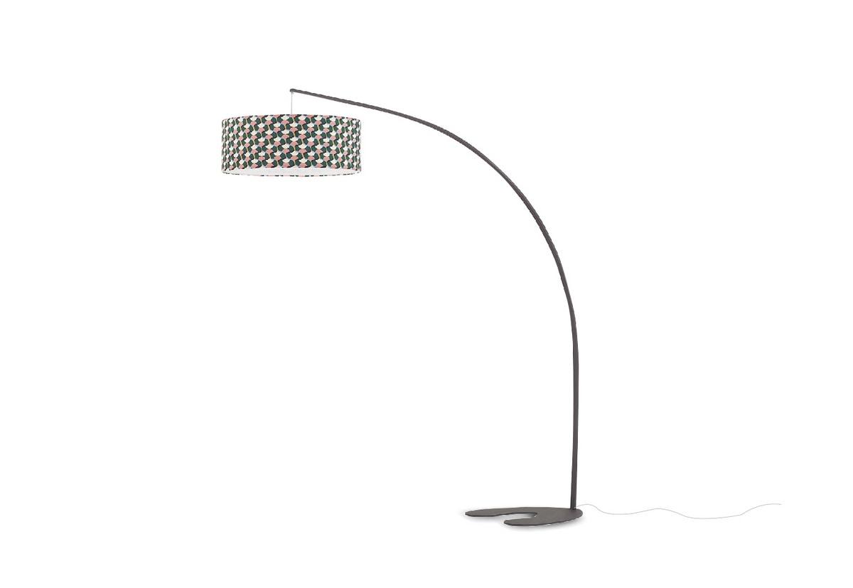 Blackduck!, Floor lamp with customizable lampshade