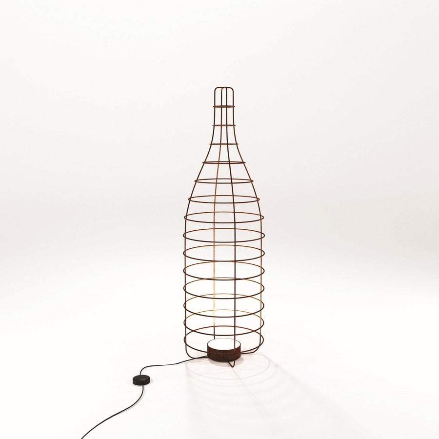 Bottiglia, Modern lamp bottle shape