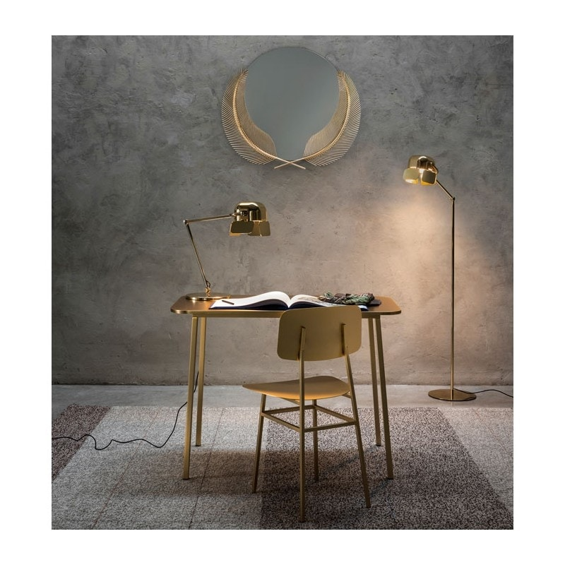 Flamingo Reading Lamp, Steel floor lamp