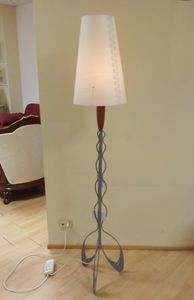 Floor lamp 04, Elegant floor lamp with metal base