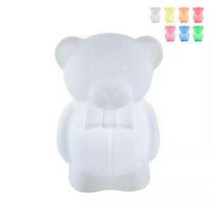 Floor lamp for children teddy bear design SLIDE Charlie LP ORS055, Teddy bear-shaped lamp