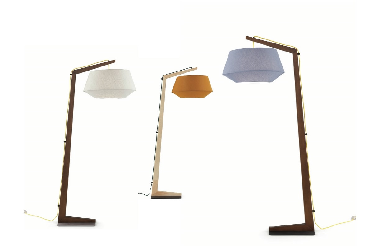 Geppetto, Wooden floor lamp