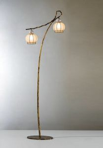 Girasole Vp199-190, Floor lamp with oriental design