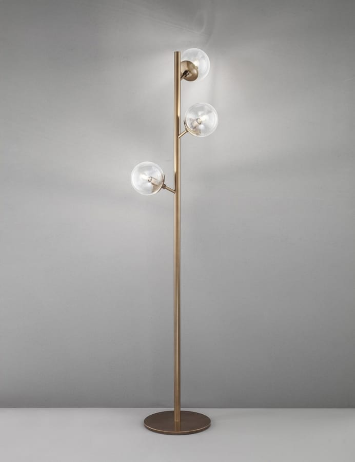 GLOBAL H 170, Floor lamp with 3 acrylic spheres