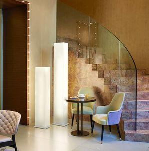 Modern design LED column floor lamp Slide Brick SD BRK, Column lamp
