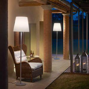 Modern design steel floor lamp Slide Ali Baba Steel LA FCA1, Floor lamp with metal base