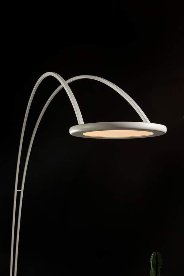 ODISSEA, Floor lamp, with arch shape, with minimal design