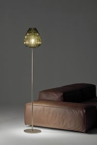 Reflex, Floor lamp in blown glass