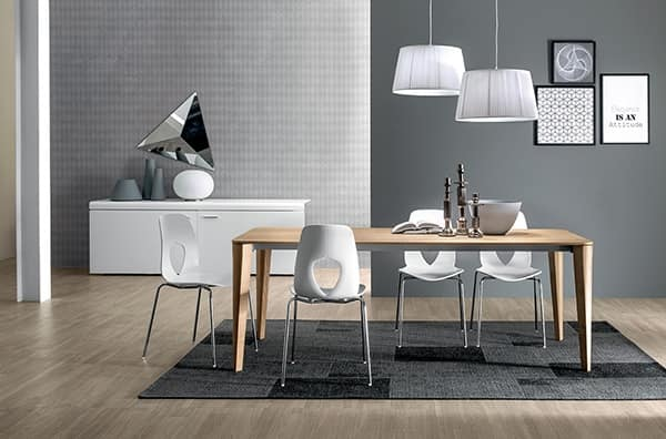 RIVALTO, Lamp with pleated lampshade and metal rod