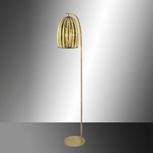 Salice Rp429-185, Floor lamp in gold leaf crystal