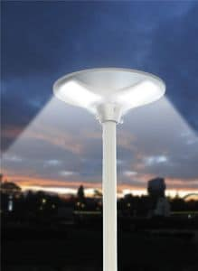Street lamp solar LED Place - LS040LED, Outdoor lamp, with solar panel