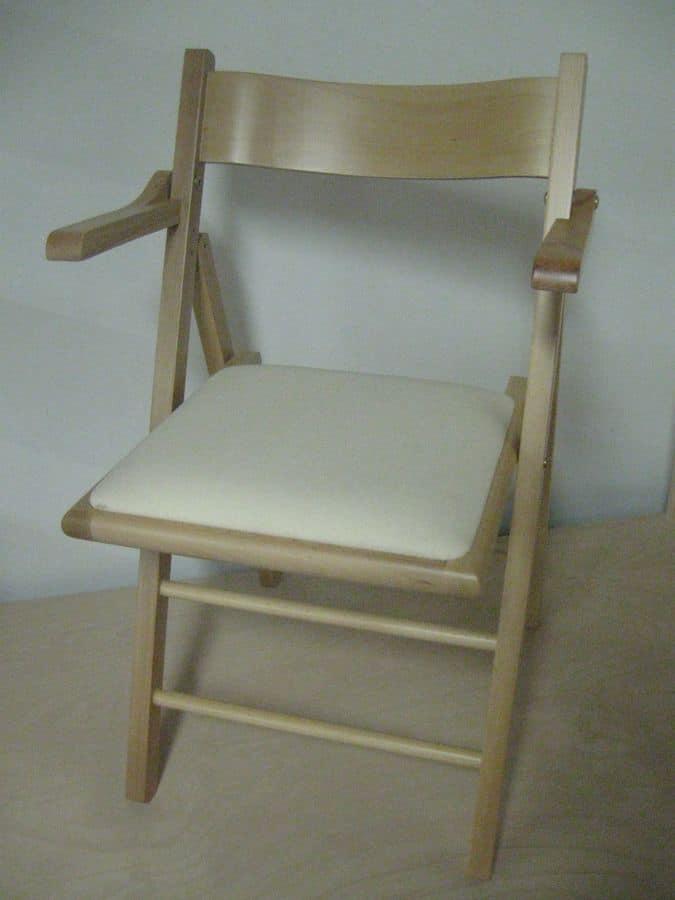 105 B, Folding chair for bar