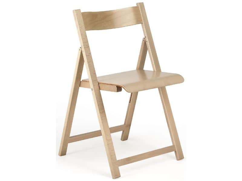 194, Lightweight chair, wooden, collapsible, for restaurant and home