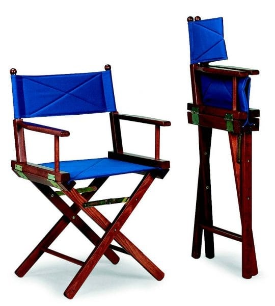34 Regista, Folding wooden chair