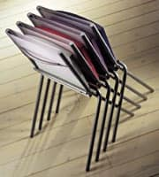 ART. 199 HELENA, Stackable chair for the kitchen, good for space saving