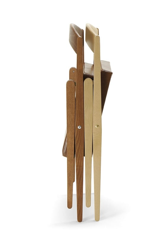 JL 11 chair, Outlet folding chair, made of wood