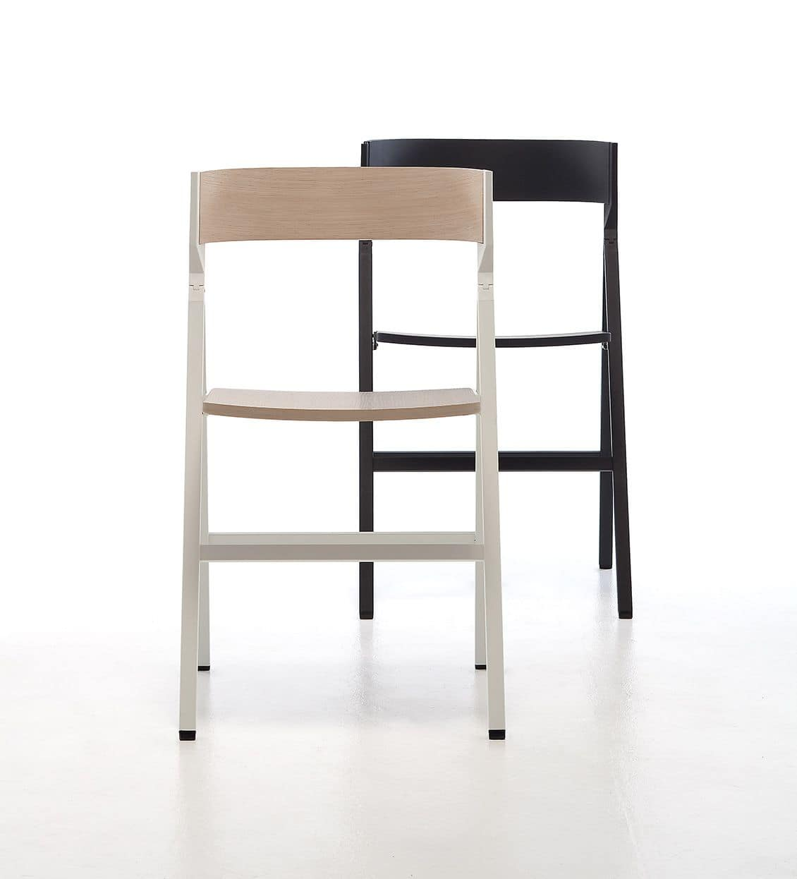 Klapp, Folding wooden chair ideal for contract use