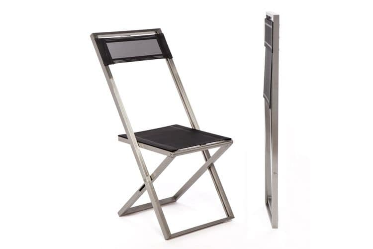 Logika 5310, Folding chair with minimal lines for outdoor use