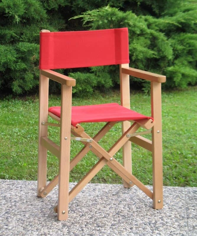Mini Regista PMC, Infant chair in beechwood and fabric