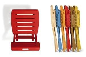 Onos, Wooden folding chair, different colors