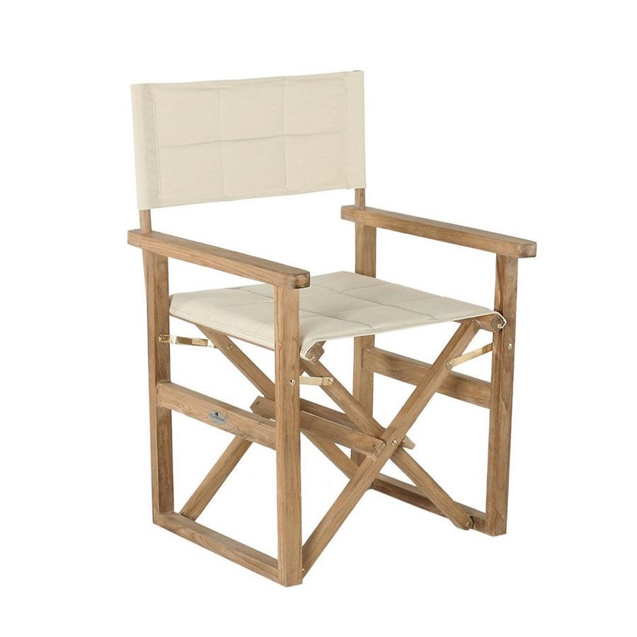 Regista 0310, Director's chair with upholstered fabrics