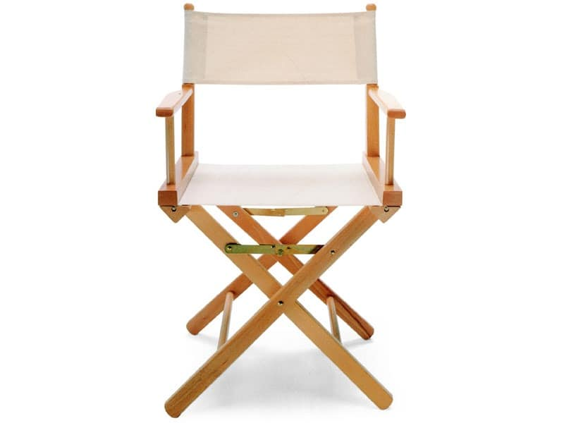 Regista P, Folding director's chair, for indoor and outdoor
