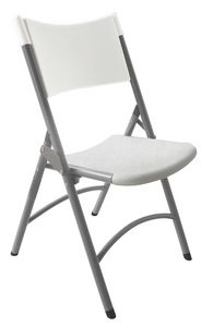 Resol.C - Ken, Chair in iron and polyethylene, for catering and banqueting