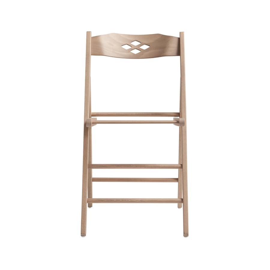 RP451B, Folding chair in beechwood