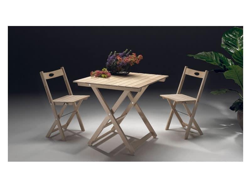 Trip, Lightweight chair, foldable, space saving