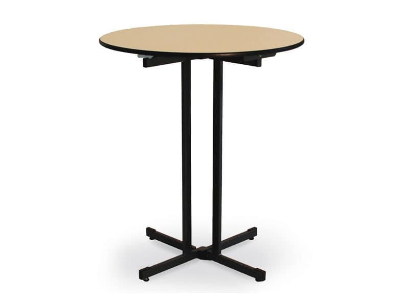 Ctl, Folding table with wooden top for catering