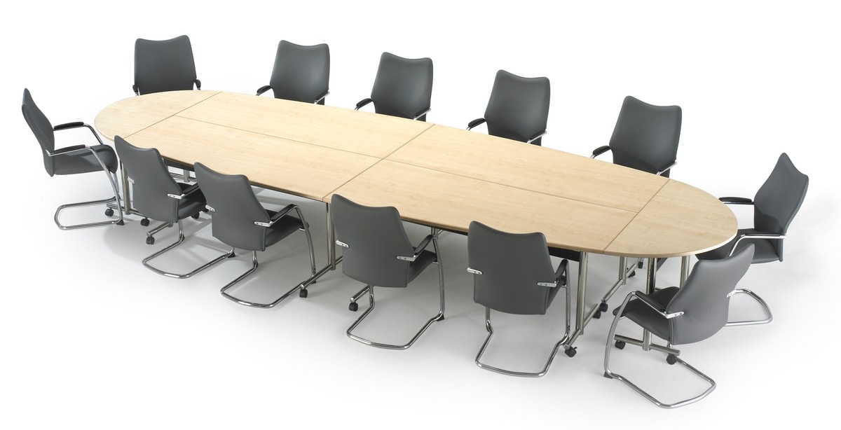 Flip-Top, Meeting tables, folding and with wheels
