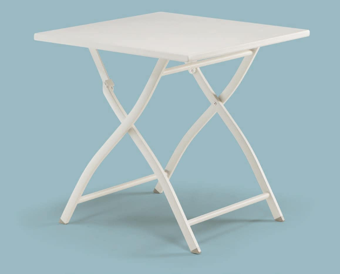 FT 741, Aluminum folding table, for outdoor