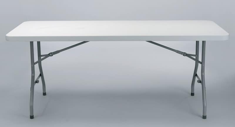 Resol.C - Chopin, Folding table, with side hooks, for banquet