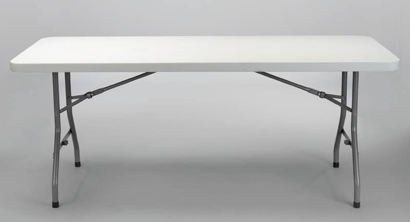 Resol.C - Vivaldi, Space-saving table, with rounded edges, for outdoors